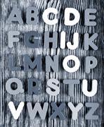 Plastic alphabet letters Stock Photos