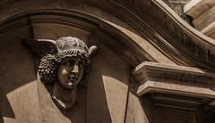Hermes Bust - Venice, Italy - stock photo