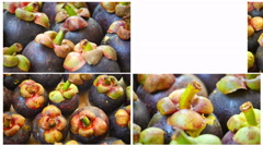 Fruit on a platter rotation Stock Footage