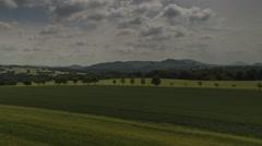 Timelapse Landscape Of Saxon Switzerland 21 - stock footage