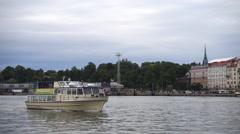 Zoological gardens vessel.  Helsinki Stock Footage
