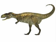 Abelisaurus Side Profile Stock Illustration