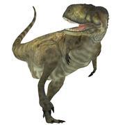 Stock Illustration of Abelisaurus Predator