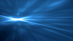 Bright blue flood lights disco background. Stock Footage
