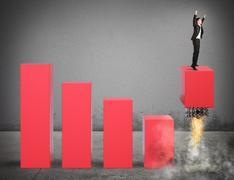 Economy challenge Stock Photos