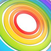 Multiple rings background composition Stock Illustration