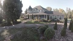Luxury Home Aerials Stock Footage