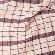 Checkered fragment of cloth - stock photo