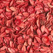 Surface covered with medley potpourri - stock photo