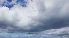 Cumulus Clouds Time Lapse - stock footage