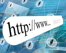 domain - stock illustration