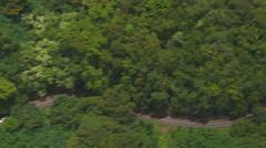Road to Hana, Maui, Hawaii Stock Footage