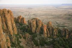 Valley of Desolation, Eastern Cape, South Africa - stock photo