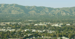 Cityscape of Westlake Village, California, USA Stock Footage