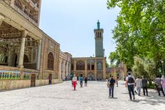 Stock Photo of Golestan Palace exterior Edifice of the Sun