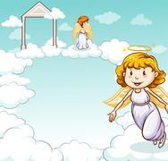 Angels Stock Illustration