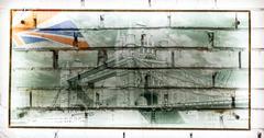 Tower Bridge and Union Jack Flag Stock Photos