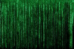 Matrix background - stock illustration