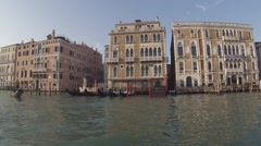 Stock Video Footage of Venice - voyage boat on the Grand Canal.
