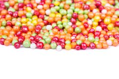 Small round candies - stock photo