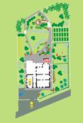 Landscaping Area - stock illustration