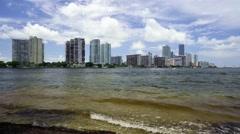 Miami Skyline Stock Footage