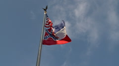 Confederate Mississippi Flag Controversy 7 - stock footage