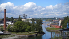 Dockyard. Suomenlinna. Helsinki Stock Footage