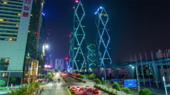 Shenzhen rooftop timelapse Stock Footage