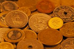Stock Photo of Gold coins