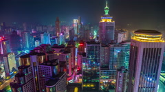 Shenzhen roof timelapse Stock Footage