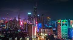 Shenzhen cityroof10 4K Stock Footage