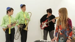 Music Lessons. Part two Stock Footage