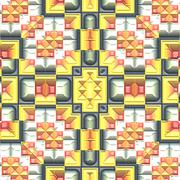 Stock Illustration of Decoration tile generated seamless texture