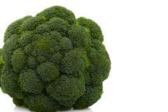 Broccoli isolated on white background Stock Photos