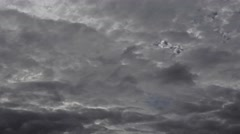 Storm clouds approaching 6 Stock Footage