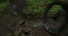 Extreme Sport - Downhill Mountain Biking - stock footage