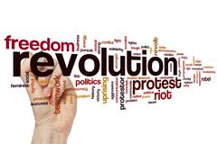 Stock Photo of Revolution word cloud
