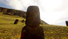 Easter Island Statues 19 HD - stock footage
