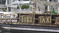 Toronto Harbour Taxi, Tiki Taxi 2015 Stock Footage