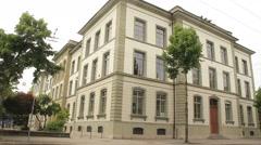 A Generic European School Building Stock Footage