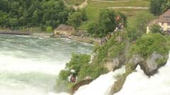 Stock Video Footage of RhineFalls2801