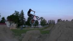 BMX Trick - - Extreme Sports Stock Footage