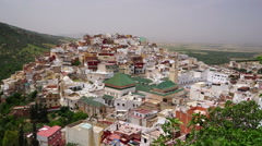 Moulay idriss Stock Footage