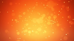 Particles colorful loop with sunset theme Stock Footage