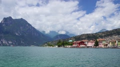 Garda lake in Italian Alps, #2 Stock Footage