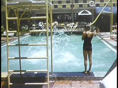 (Archive Footage) Surfers Paradise, Australia 1950s - stock footage
