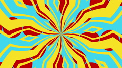 Kaleidoscope 8 - Kaleidoscopic Fun Video Background Loop Stock Footage