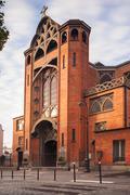 Churche Saint Jean de Mormartre, Paris - stock photo