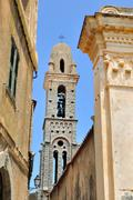 Church of Pina - Corsica Stock Photos